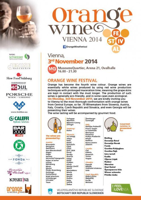 Orange Wine Festival, 2014, Vienna Austria